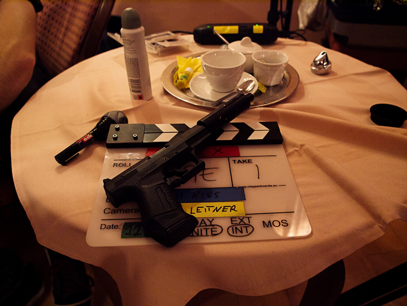 To say it in the words of the great Jean-Luc Godard: All you need for a movie is a gun ...