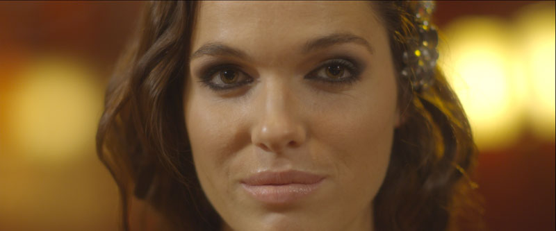 ... and a girl.(Our lead actress Verena Altenberger. Still frame from the film, DPX with levels applied.)
