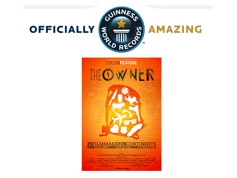 "Official entry in the Guinness Book of World Records of CollabFeature ""The Owner"" (website)"