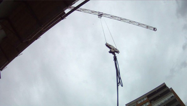 "Short film: ""Construction Waltz""Up in the Air with Canon T2i/550D"