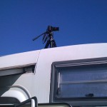 T2i/550D on roof of caravan