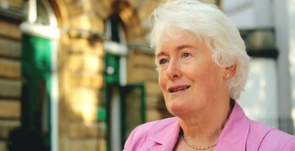 Margaret Mountford (still frame from the interview shot with the Canon 550D/T2i)