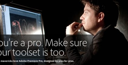 Get 50% off Adobe CS5.5 Production Premium or Premiere Pro using promo code SWITCH