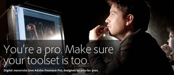 50% (& more) off Adobe CS5.5 & Avid Media Composer, both capitalizing on Apple's weakness