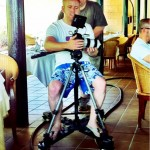 Christoph Werner, who ended up winning the CamDolly, was using it all the time the day before on their shoot - so it was a perfect fit!