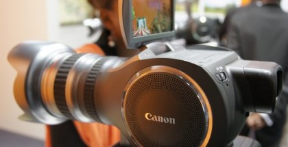 "Will the ""Canon hair dryer"" become a real camcorder product?"