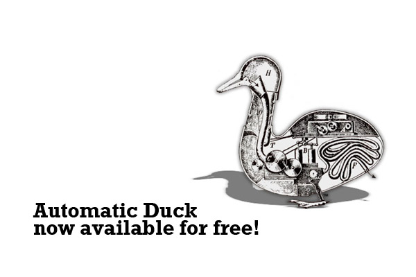 Automatic Duck plug-ins now available for free!