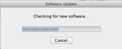 Software Update - stupid piece of software that only checks file names and version numbers with the Applications folder (not even subfolders)