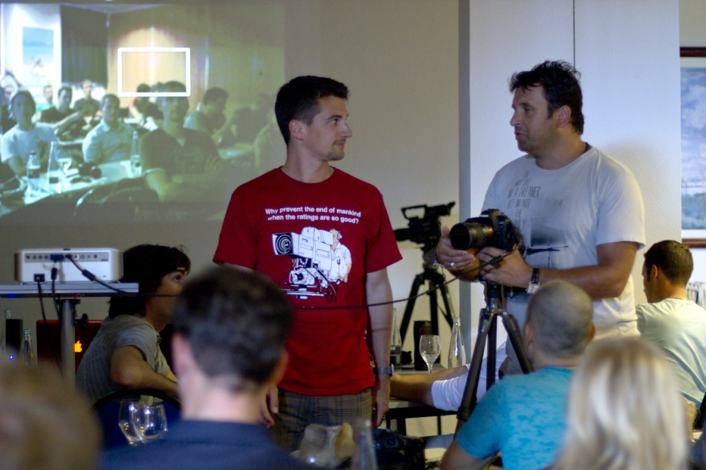 Me and Philip teaching