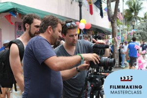 A look back: Philip Bloom at the Filmmaking Masterclass in Key West which I hosted. It won't be this warm in Vienna in November, unfortunately :-)