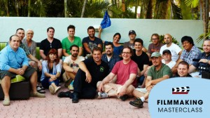 All participants of the 2012 Key West Filmmaking Masterclass!!