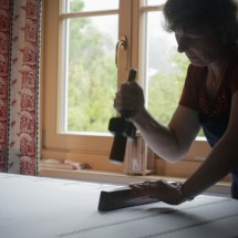 Mautner hand printing