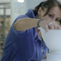 Gmundner Keramik - pottery manufacturing