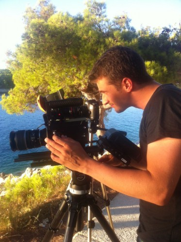 Nino Leitner testing the Kinefinity KineRAW MINI in Croatia.