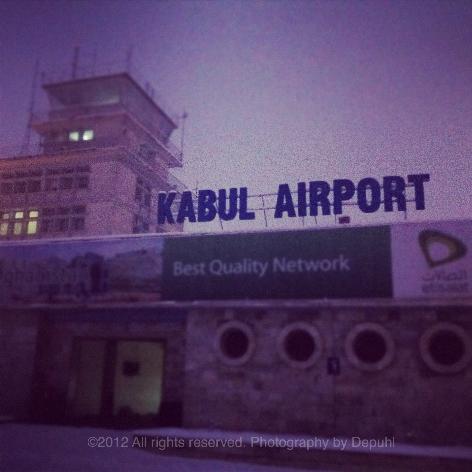 Kabul's main Terminal