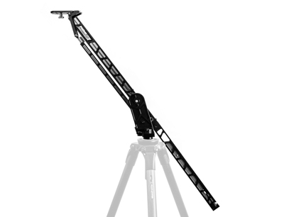 Circular travel distance of 72 inches when fully extended: The Kessler Pocket Jib Traveler