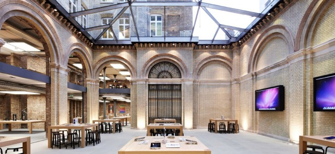 London Covent Garden, one of four Apple Stores Nino Leitner will be holding workshops in about commercial filmmaking.