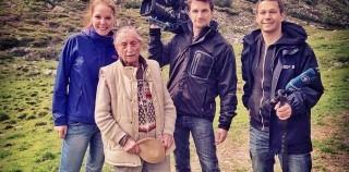 TV report: 101 year-old Marko Feingold remembers alpine exodus [German]