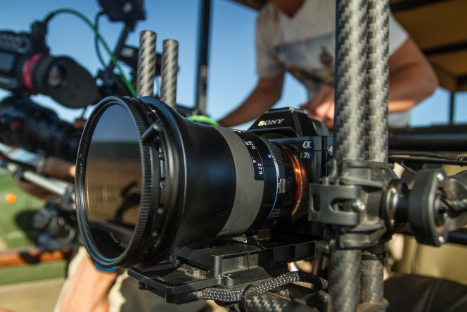 Freefly Systems MøVi M5 with a Sony a7S and a ZEISS Milvus 21mm lens. © Nino Film GmbH