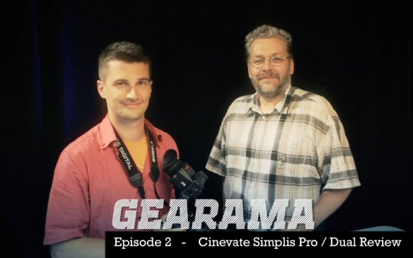 GEARAMA – Episode 2 – Cinevate Simplis Pro / Dual DSLR Rig Review