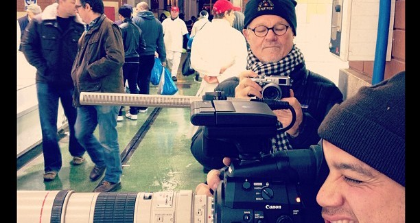 """Rodney Charters' BTS on a C300 test shoot: """"camera of the decade"""""""